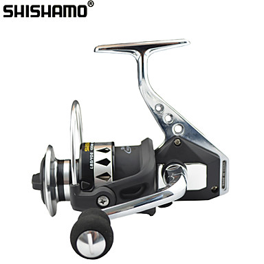 cheap Fishing Reels-Fishing Reel Spinning Reel 4.7:1 Gear Ratio+13 Ball Bearings Hand Orientation Exchangable Sea Fishing / Bait Casting / Ice Fishing - RX6000 / Jigging Fishing / Freshwater Fishing / Carp Fishing