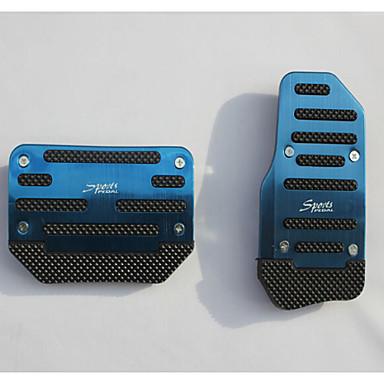 povoljno Automobil Pedale-aluminijska klizanja automobila papučica gasa pritisnuta papučica kočnice se primjenjuju na automatske mjenjače automobila (assorted boje)