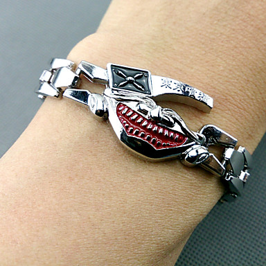 Jewelry Inspired by Tokyo Ghoul Cosplay Anime Cosplay Accessories Bracelet Alloy Men's New