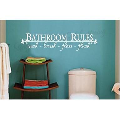 kylpyhuoneen sisustuksessa seinätarrat zooyoo8044 adesivo de Parede irrotettava vinyyli seinä tarroja