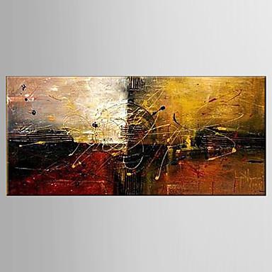 Maalattu Asetelma / FantasyModerni 1 paneeli Kanvas Hang-Painted öljymaalaus For Kodinsisustus
