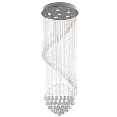 Moderni / nykyaikainen Riipus valot Alavalot - Kristalli / LED, 110-120V / 220-240V, Lämmin valkoinen / Kylmä valkoinen, Polttimo mukana