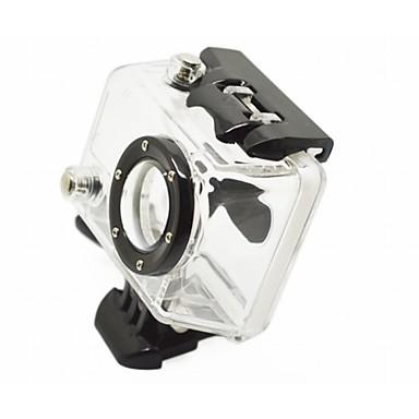 На бретельках Водонепроницаемые кейсы Кейс Монтаж Водонепроницаемый Для Экшн камера Gopro 3 Gopro 3+ Gopro 2 Армия Езда на снегоходах