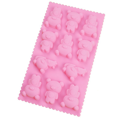 The silicone mould cartoon animals