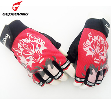 Getmoving® Sports Gloves Men's Cycling Gloves Spring / Summer / Autumn/Fall / Winter Bike GlovesKeep Warm / Breathable / Wearproof /
