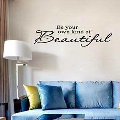güzel ev dekorasyon alıntı duvar çıkartma zy8080 Adesivo de Parede çıkarılabilir etiket senin tür