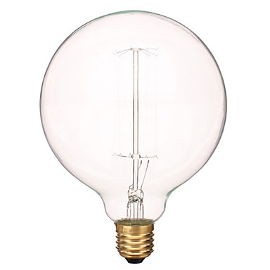 480 lm E26/E27 LED Filament Bulbs 1 leds Warm White AC 220-240V