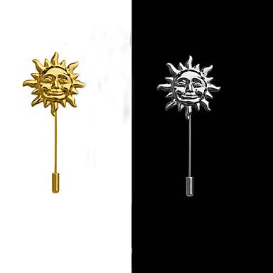 güneş broş (1 adet) ovaljewelry püsküller / çapraz / bohemia zarif stili