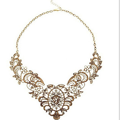 New Arrival Fashional Retro Holoww Carving Collar Necklace