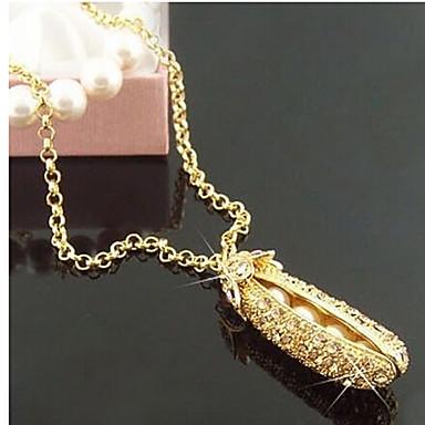 Damen Synthetischer Diamant Anhängerketten - Strass Farbbildschirm Modische Halsketten Schmuck Für