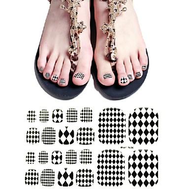 추상화 - 발가락 - 3D 네일 스티커 - 이 외 - 1 - 15X7.8X0.1
