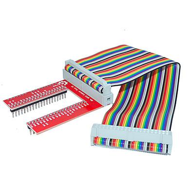Himbeerkuchen 3 GPIO erweitert DIY-Kit (40p + gpio v2 Regenbogenlinie)