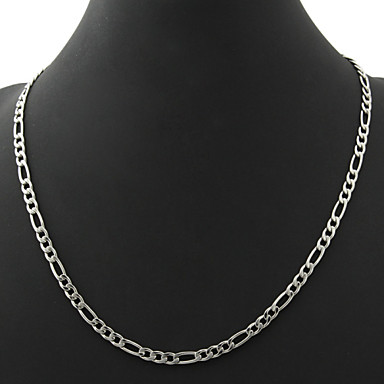 Women s Figaro Chunky Chain Necklace - Stainless Steel 581d20e43