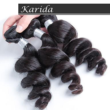 3 db / csomó nagykereskedelmi laza hullám perui haj szövés, nagykereskedelmi szűz perui haj