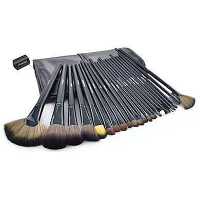 32pcs Makyaj fırçaları Profesyonel Fırça Setleri Keçi Kılı Fırça / Naylon Fırça / Sentetik Saç Seyahat Büyük Fırça / Orta Fırça / Küçük