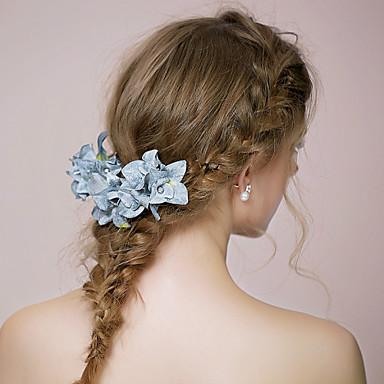 ткань цветы головной убор свадебная вечеринка элегантный классический женский стиль