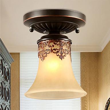 Ecolight™ Монтаж заподлицо Потолочный светильник - Мини, 110-120Вольт / 220-240Вольт Лампочки не включены / 5-10㎡ / E26 / E27