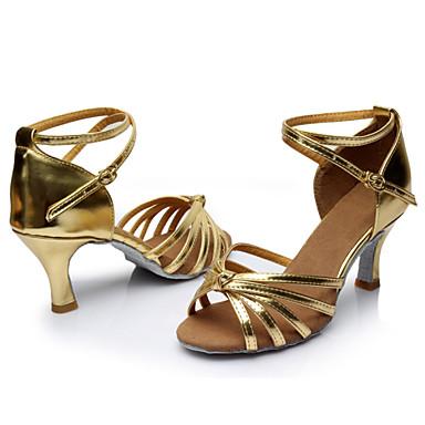 Só Danca Claudia zapatos con puntera - rosa, satén, 38