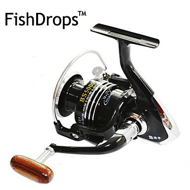 cheap Fishing Reels-Fishdrops Bslgh4000 5 5 1 13 Ball Bearings One Way Clutch Spinning Fishing Reel Right Left Hand Exchangable