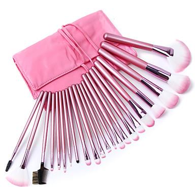 22 Stück Professional Makeup Bürsten Bürsten-Satz- Ziegenhaarbürste / Kunstfaser Pinsel / Künstliches Haar Für Reisen 2 * Concealer