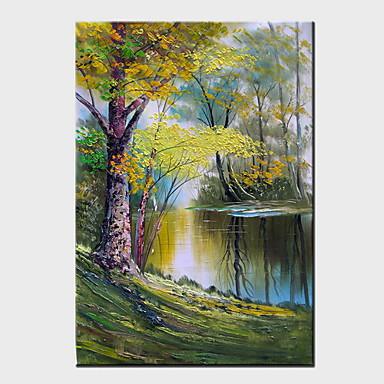 Картины маслом одна панель современный пейзаж ручной росписью холст готовы повесить