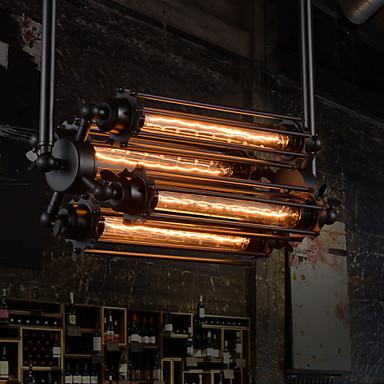 Rustic/Lodge Retro Mini Style Chandelier Ambient Light For Living Room Bedroom Dining Room Study Room/Office 110-120V 220-240V Bulb Not