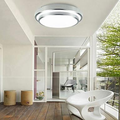 KAKAXI Flush Mount Downlight - Mini Style, LED, 90-240V / 110-120V / 220-240V, Warm White / White, Bulb Included / 20-30㎡