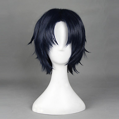 Cosplay Wigs Seraph of the End Cosplay Anime Cosplay Wigs 32 CM Heat Resistant Fiber Men's Women's