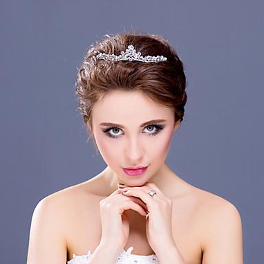 Γυναικείο Κορίτσι Λουλουδιών Στρας Κράμα Headpiece-Γάμος Ειδική Περίσταση Τιάρες Κεφαλόδεσμοι 1 Τεμάχιο