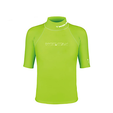 Men's Hiking T-shirt Outdoor Waterproof Thermal / Warm Ultraviolet Resistant Breathable Compression Lightweight Materials Top Camping /