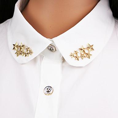 gwiazda broszka (1 para) ovaljewelry frędzle / crossover / bohemia elegancki styl