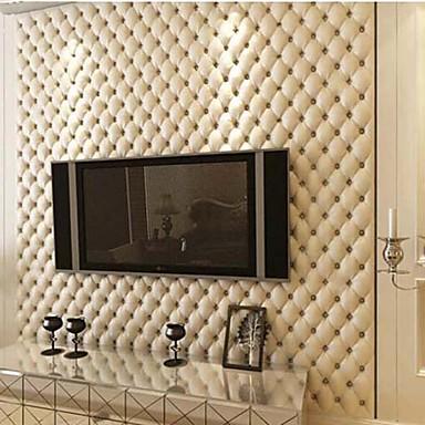 Art Deco Ev için duvar kağıdı Çağdaş Duvar Kaplamaları , PVC/Vinil Malzeme Yapıştırıcı gerekli duvar kağıdı , Oda Wallcovering