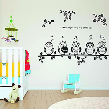 Animal Wall Sticker Animals Nursery Baby Kids Room Decal Wall Decoration