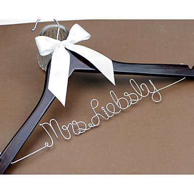 Menyasszony Koszorúslány Koszorúslányok Pár Fa Aluminum Alloy Kreatív ajándék Esküvő