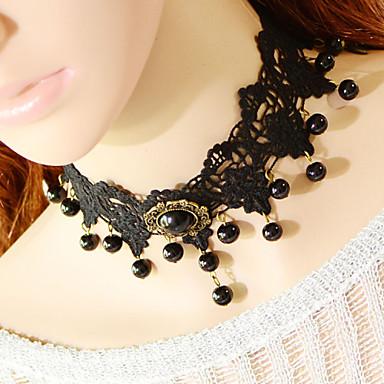 vintage püsküller boncuk kolye düğün partisi zarif kadınsı stil