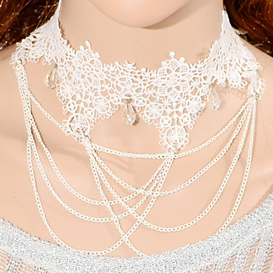 Femme Colliers chaînes  -  Mode Colliers Tendance Pour Mariage Occasion spéciale Anniversaire