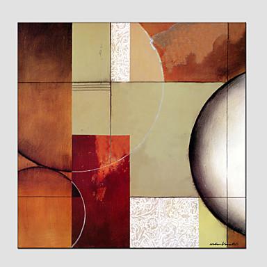Peinture à l'huile Hang-peint Peint à la main - Abstrait Style européen Moderne Toile
