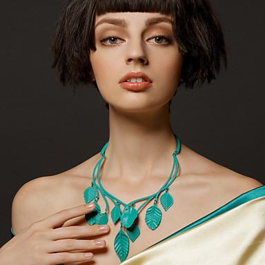 party / special occasion zöld levelek nyakláncok klasszikus női stílusban