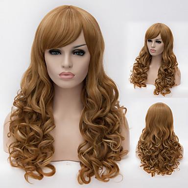 필요한 유럽과 미국의 높은 품질의 고온 와이어 큰 파도 머리 가발 패션 소녀