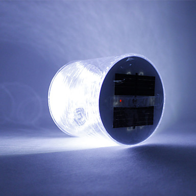 billige Utendørsbelysning-1pc Dekorations Lys Soldrevet Vanntett / Oppladbar