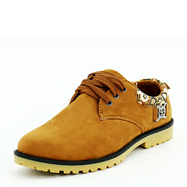 Men's Shoes Wedding / Outdoor / Office & Career / Party & Evening / Athletic / Casual Oxfords Black / Blue / Brown