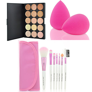 Cream Concealer / Kontur Make-up Pinsel 7 pcs Trocken / Kombination / Ölig Concealer Bilden Kosmetikum