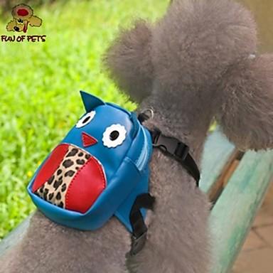 Chien sac à dos Vêtements pour Chien Mignon Dessin-Animé Bleu Costume Pour les animaux domestiques