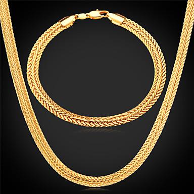 Jewelry Set Chunky Ladies Dubai Gold Plated Earrings Jewelry