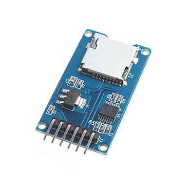 für Arduino Micro-SD-Kartenmodul TF-Kartenleser Kartenleser spi Schnittstellen mit Pegelwandler-Chip