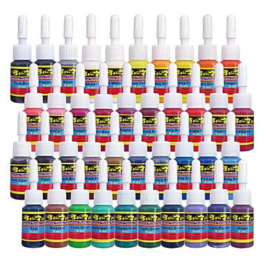 Solong Tattoo Inks 40 Colors Set 5ml/Bottle Tattoo Pigment Kit
