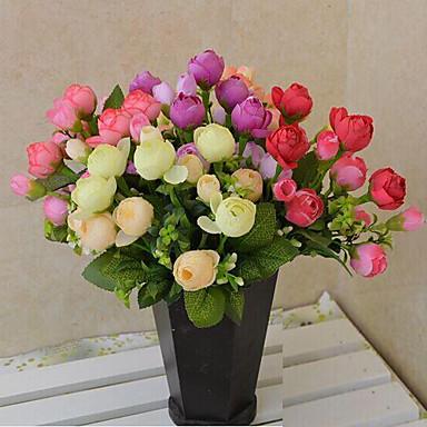 Polyesteri Ruusut Keinotekoinen Flowers