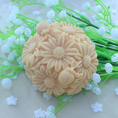 kula kwiatek deser dekorator mydło forma kremówka ciasto czekoladowe silikonowe formy, narzędzia do dekoracji pieczenia