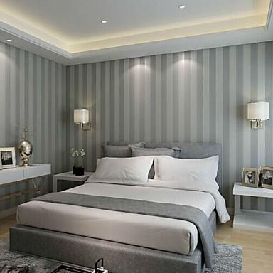 Raita Kodinsisustus Nykyaikainen Seinäpinnat, Non-woven Paper materiaali liima tarvitaan tapetti, huoneen Tapetit