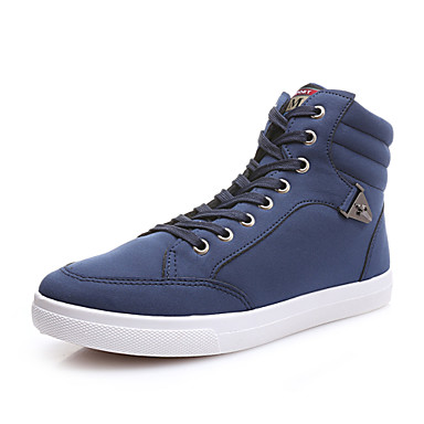 Men's Shoes Office & Career/Casual Fashion Sneakers Black/Blue/Gray